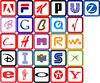 алфавит брендов